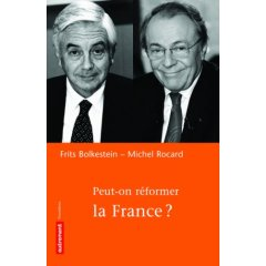 "livre ""peut-on réformer la France"""